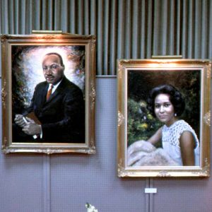 Martin Luther King, Jr. Portrait Preview, 1971