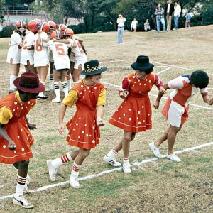Beverly High Front Lawn Home Coming, 1974