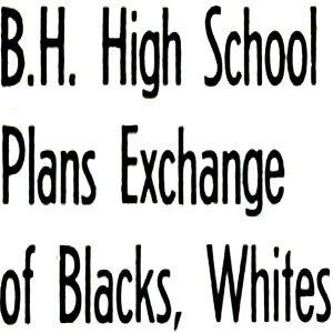 Beverly High Integration Program Part 1